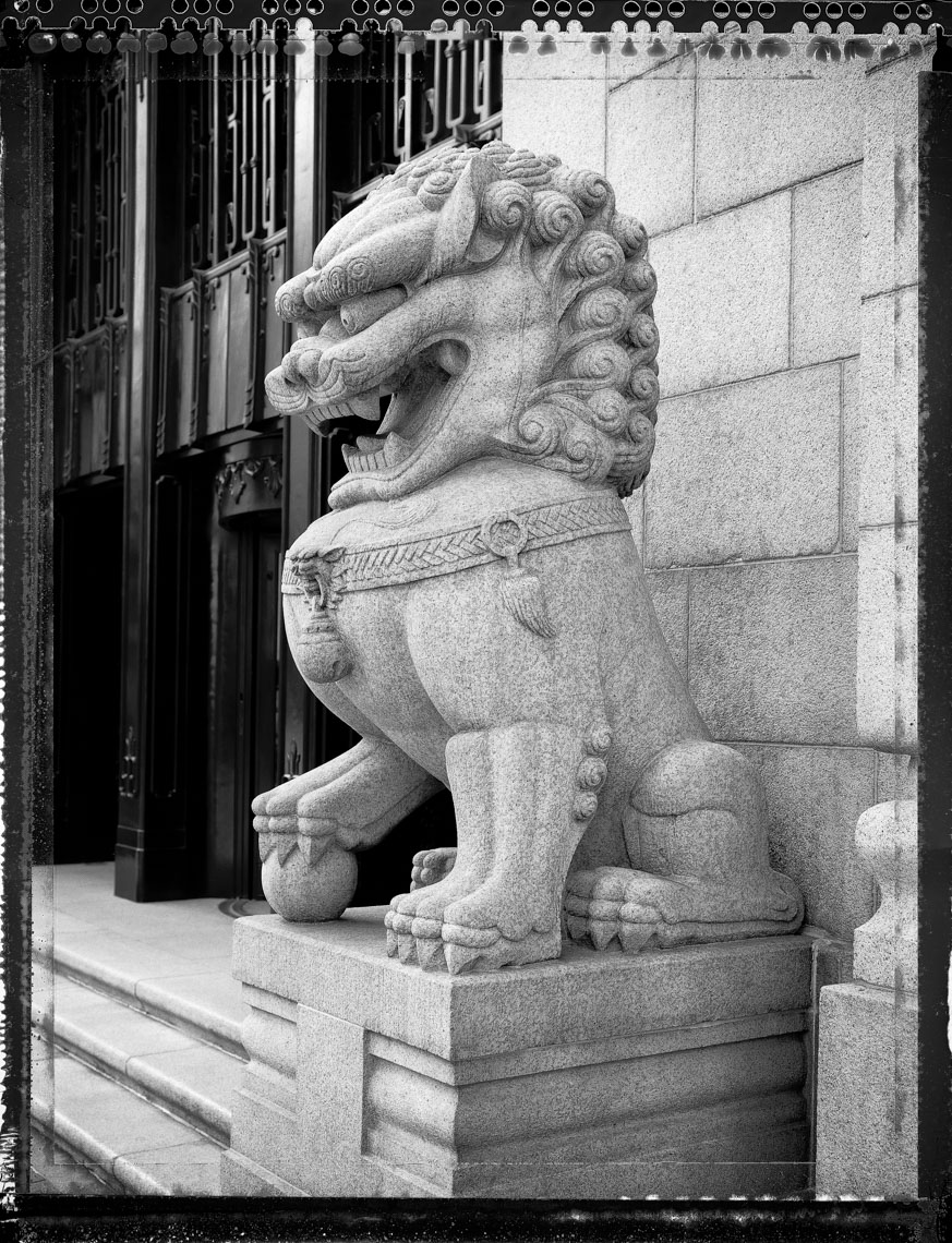 Old Bank of China, Hong Kong, Type 55, Door Lion