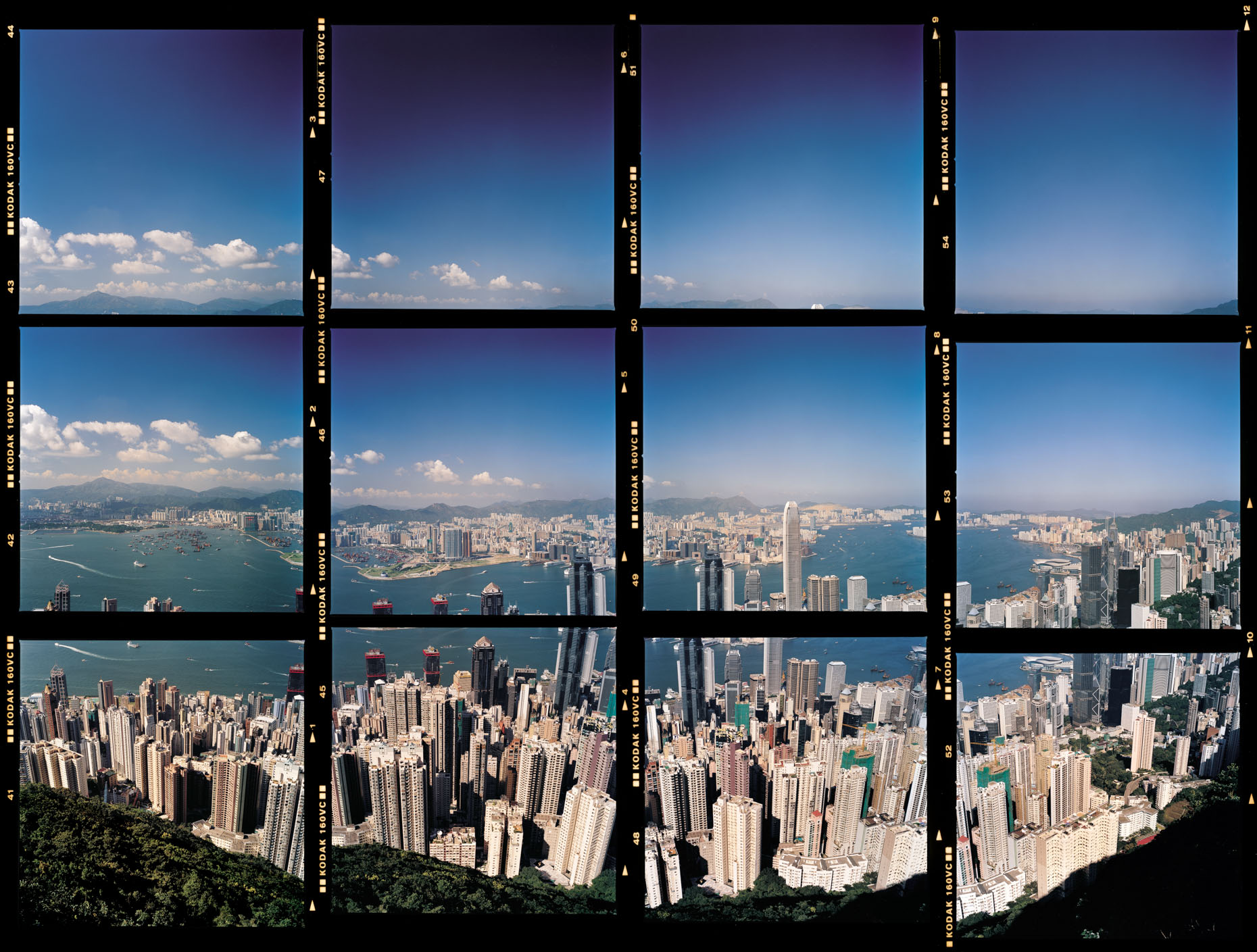 Harbour View, Contact Sheet, Hong Kong