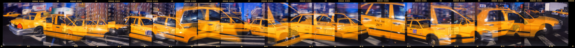 New York City Taxi, 6th and 23rd,